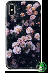 Coque BIO iPhone XS Max personnalisée (noire)