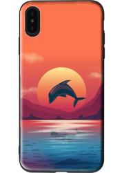 Coque eco-friendly iPhone XR personnalisée (noire)