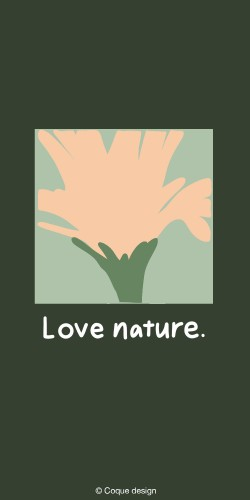 Coque LOVE NATURE