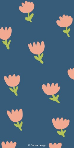 Coque les fleurs