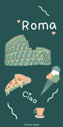 Coque artiste ROME