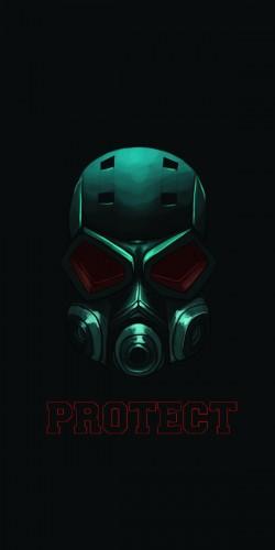 Coque protect masque à gaz