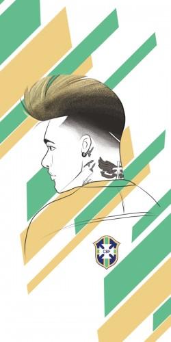 Coque Neymar Brésil