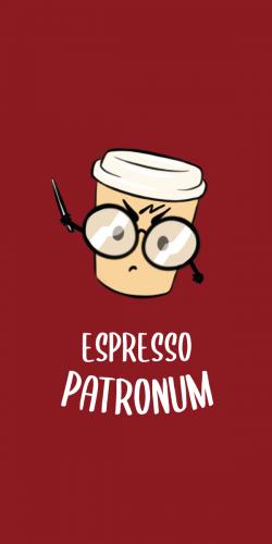 Coque Espresso patronum