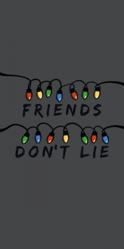 Coque Friends don\'t lie