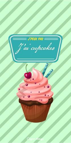 J\'peux pas j\'ai cupcakes