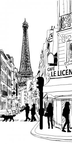 Coque Dans une rue parisienne