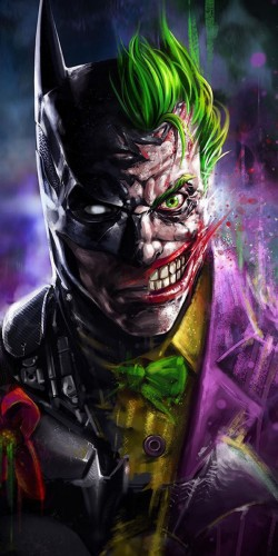 Coque Joker - Batman Face