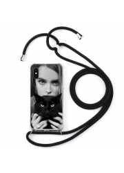Coque cordon collier personnalisable iPhone XS MAX