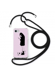 Coque cordon collier personnalisable iPhone 7
