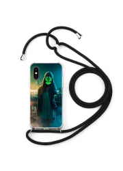 Coque cordon collier personnalisable iPhone XS