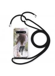 Coque cordon collier personnalisable Samsung Galaxy S10 plus