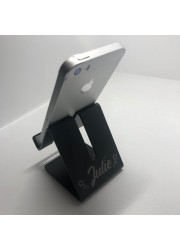 Station d\'accueil pour smartphone personnalisée gravure
