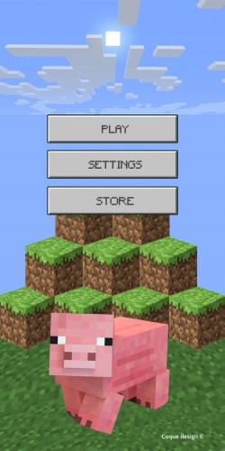 Coque Minecraft