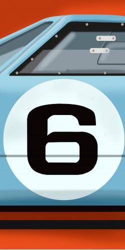 Coque GT40