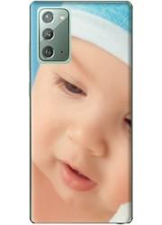 Silicone Samsung Galaxy Note 20 personnalisée