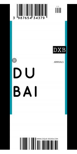 Coque Dubai voyage