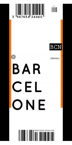 Coque Barcelone voyage