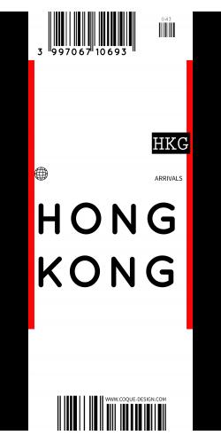 Coque Hong Kong voyage