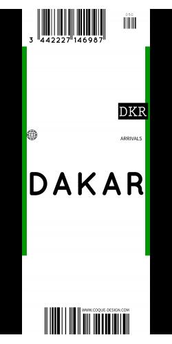 Coque DAKAR voyage