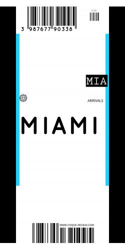 Coque Miami voyage