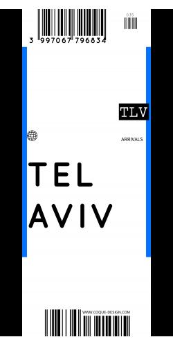 Coque Tel Aviv voyage