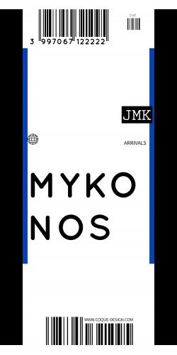 Coque Mykonos voyage