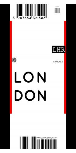 Coque Londres voyage
