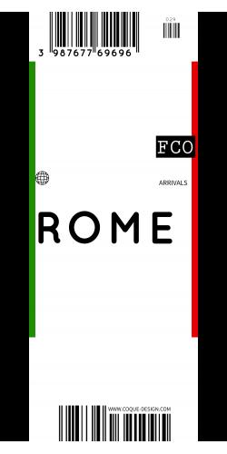 Coque Rome voyage