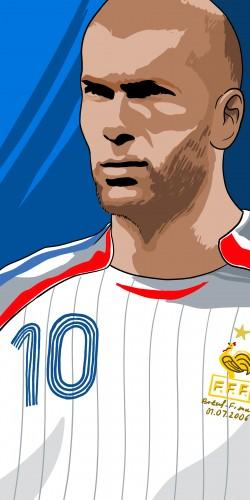 Coque collector Zidane