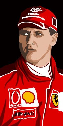 Coque Michael Schumacher