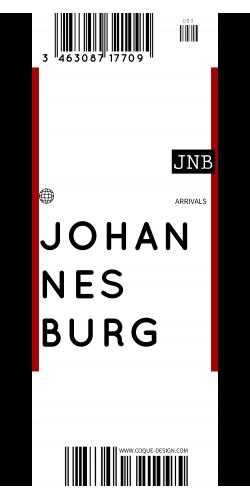 Coque Johannesburg voyage