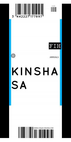Coque Kinshasa voyage