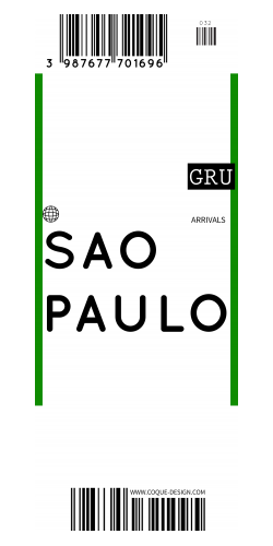 Coque Sao Polo voyage