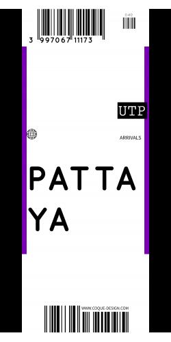 Coque Pattaya voyage