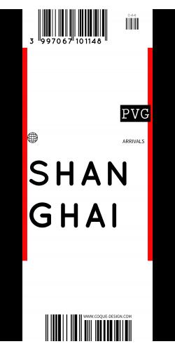 Coque Shanghai voyage