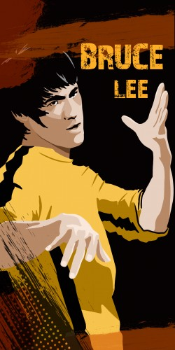 Coque Bruce Lee