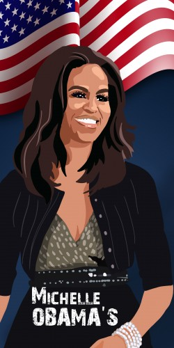 Coque Michelle Obama