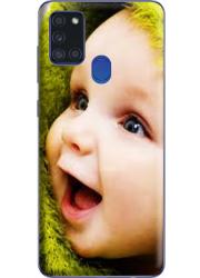 Coque 360° Samsung Galaxy A21S personnalisée