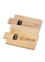 Clé USB en bois personnalisée
