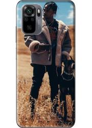 Silicone Xiaomi Redmi Note 10 4G personnalisée