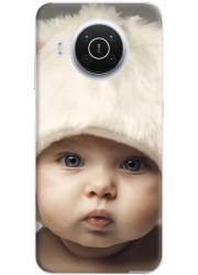 Silicone Nokia X10 personnalisée