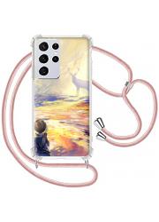 Coque cordon Samsung Galaxy s21 personnalisée