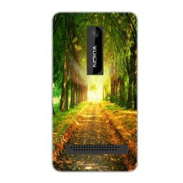 Silicone personnalisée Nokia Asha 210