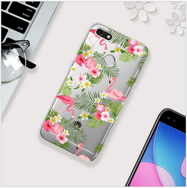 coque huawei y6 pro 2017 silicone animaux